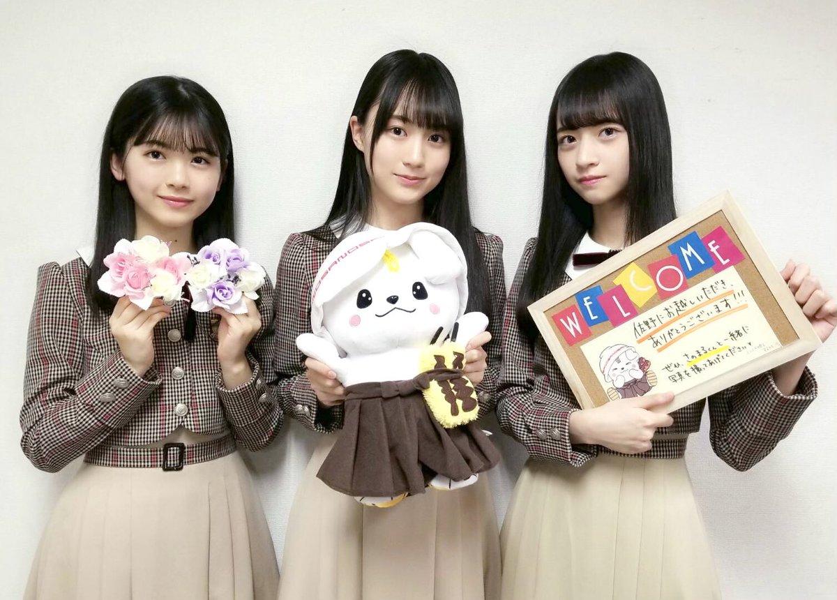 栃木県チーム:賀喜、金川、筒井